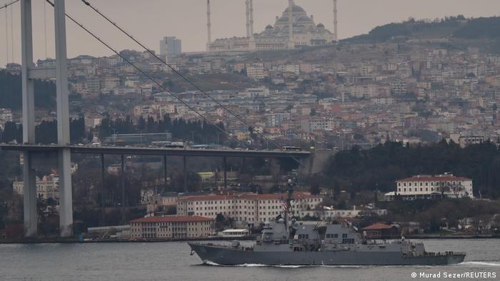 СМИ: В Чёрное море направят два корабля ВМФ Великобритании
