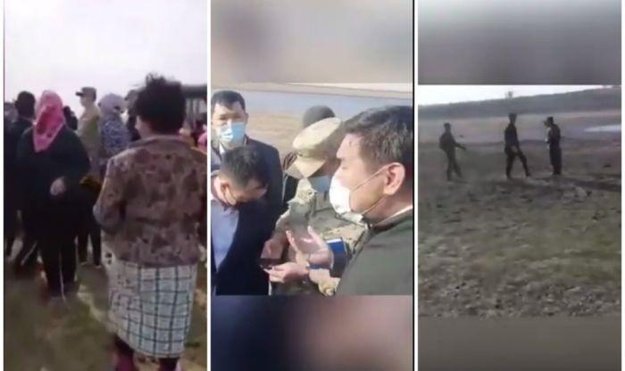Село Коптогай: споры на границе