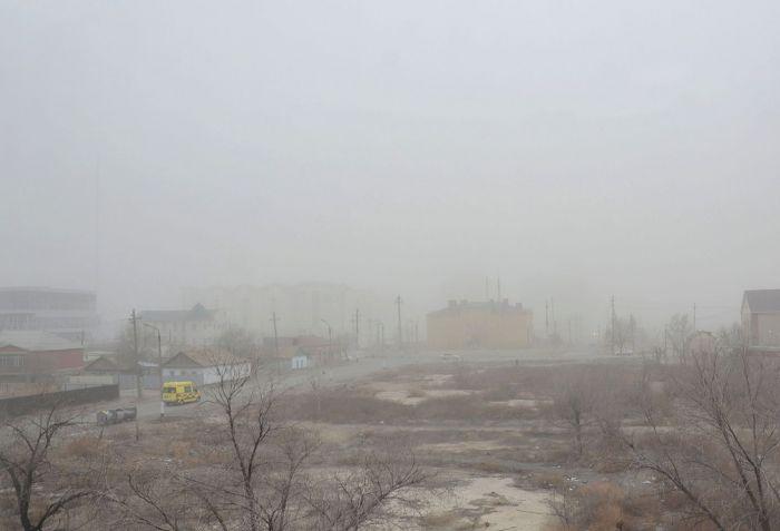 Токсичная карта Атырау