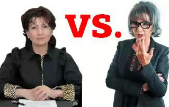Аханова vs. Ергалиева. Интересное начало