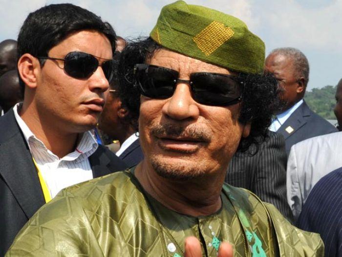 Конец эры полковника Каддафи (+ФОТО, ВИДЕО)