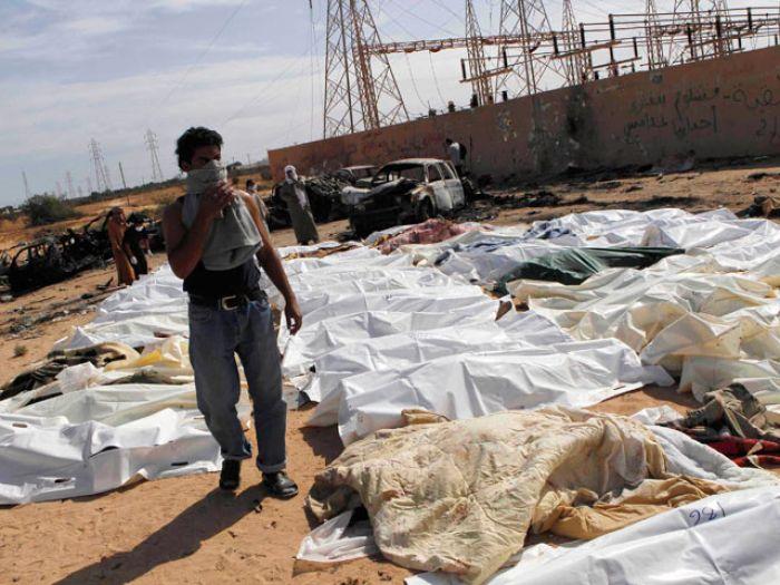 """Ливийская оппозиция устроила кровавую """"вендетту"""" людям Каддафи"""