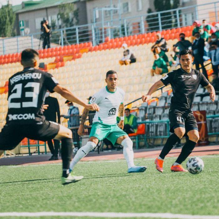«Атырау» одержал третью победу в чемпионате