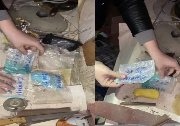 В Атырау у закладчика нашли наркотики на 3500 доз