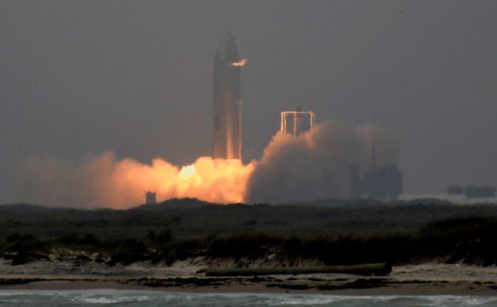SpaceX провела успешные испытания прототипа Starship