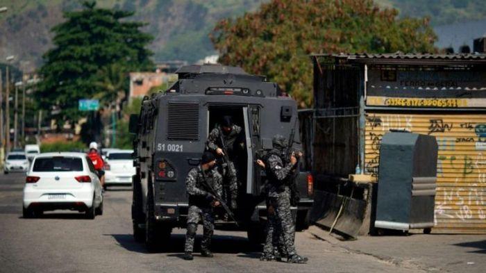 Бойня в фавеле. В полицейском рейде против наркодельцов Рио погибли 25 человек