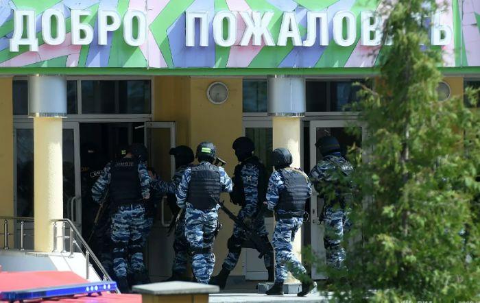 Стали известны подробности вооруженного нападения на школу в Казани