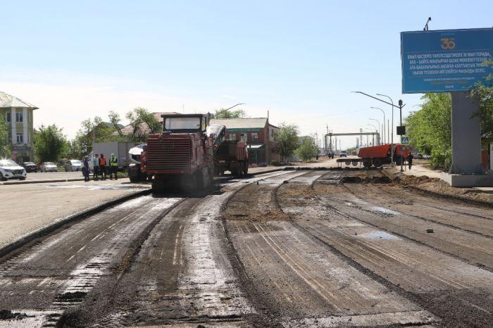 В Атырау началась реконструкция жилгородской улицы