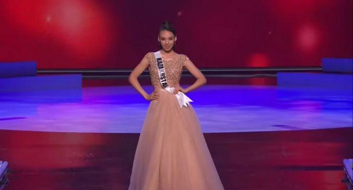 """Камилла Серикбай представила Казахстан в полуфинале """"Мисс Вселенная"""""""