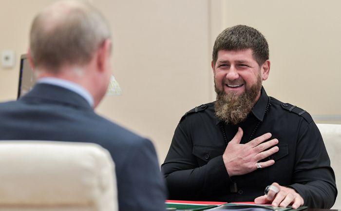 Кадыров назвал себя «проектом» и «пехотинцем» Путина