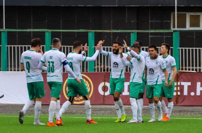 ФК «Атырау» поднялся на 6-е место