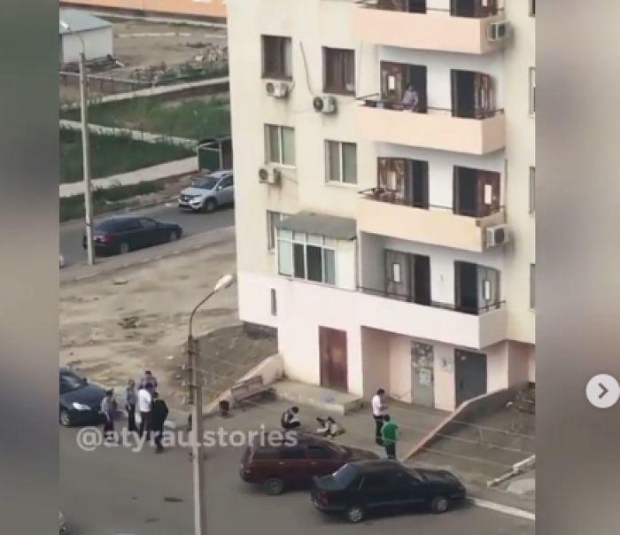 Второй смертельный прыжок в многоэтажном Алмагуль