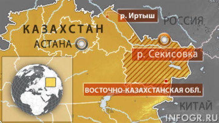 Цианиды попали в реку на востоке Казахстана - ПДК превышена в 516 раз