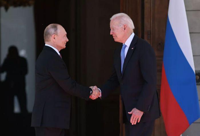 Путин рассказал о впечатлении от Байдена