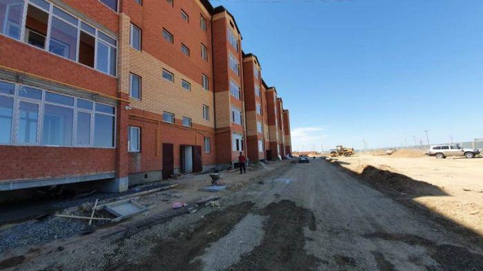 Индер – первый, там идёт строительство ипотечных домов