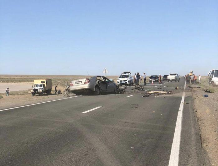 В ДТП на кульсаринской трассе погибли трое человек