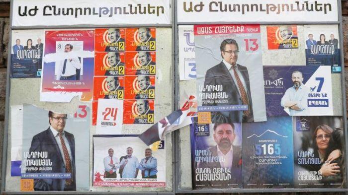 В Армении начались выборы в парламент