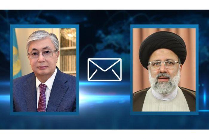 Токаев отправил телеграмму президенту Ирана