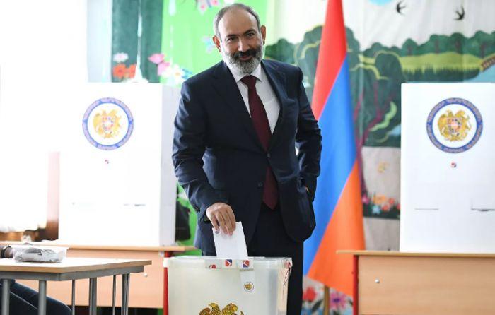Партия Пашиняна победила на выборах в парламент Армении