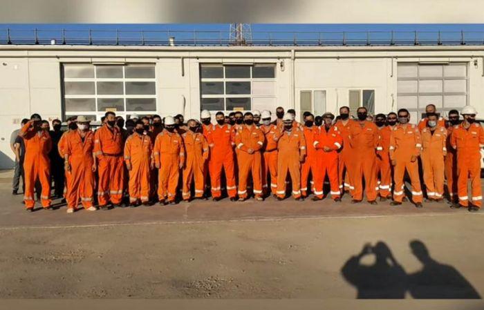 Работники нефтяного месторождения в Мангистау обратились к Токаеву