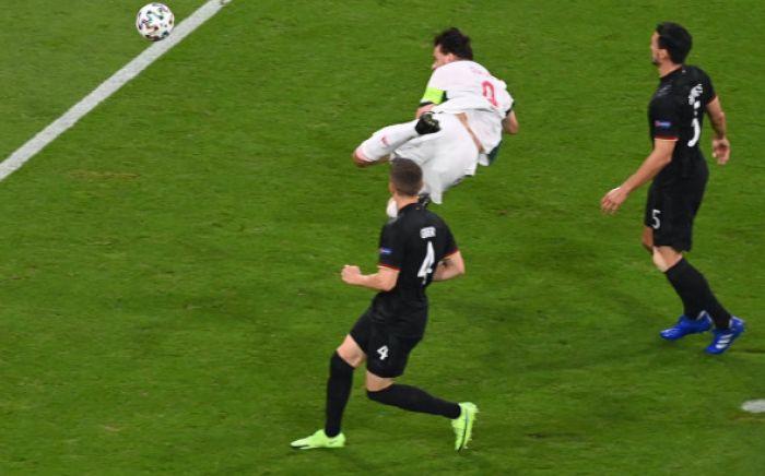 Появилось видео речи капитана венгров перед матчем с Германией