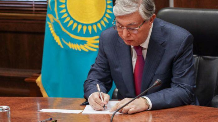 Токаев подписал ряд законов