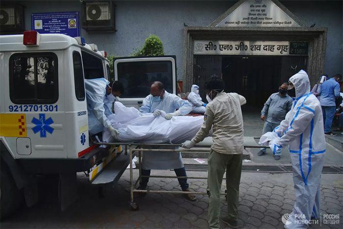 """В Индии зафиксировали первый случай смерти от штамма """"Дельта плюс"""""""