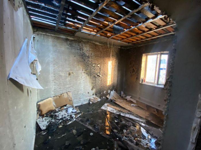 В посёлке Таскала при взрыве газа погибла женщина, ребёнок получил 85% ожогов тела