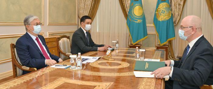 Токаев принял главу Высшего судебного совета