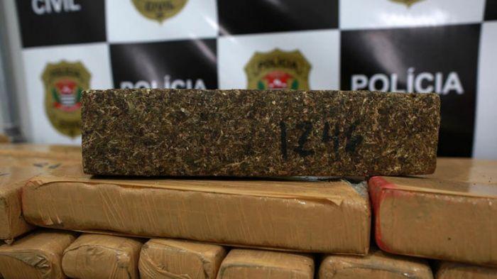 В Бразилии конфисковали рекордную партию марихуаны
