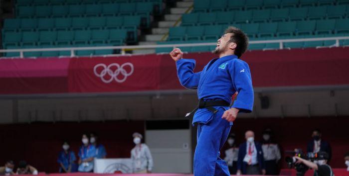 Сметов принес Казахстану первую медаль Олимпиады в Токио