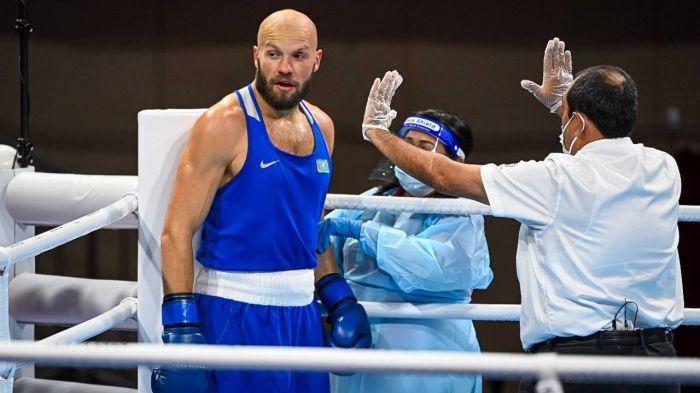 Василий Левит проиграл нокаутом в первом бою на Олимпиаде - видео