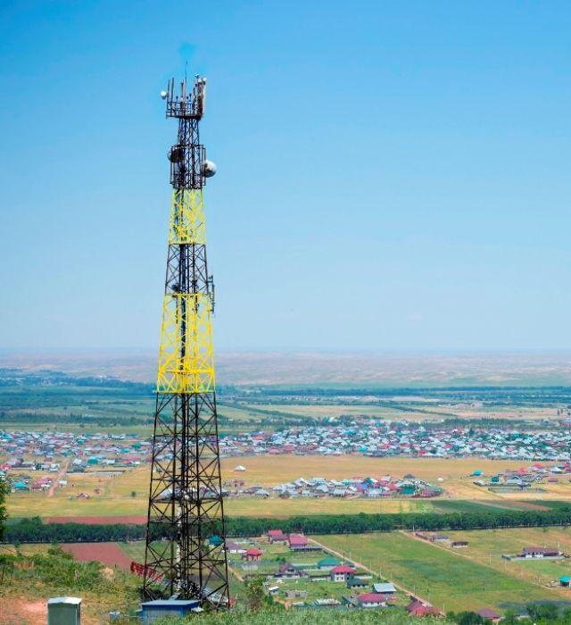 Малые сёла Атырауской области подключают к интернету Beeline