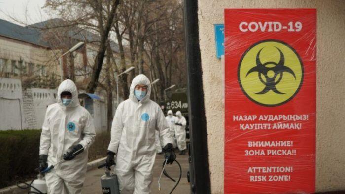 «Темно-красная» зона: в Алматы по выходным вводится полный локдаун