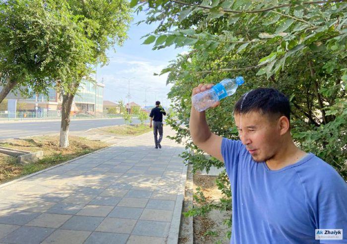 Жара до 43 градусов ожидается на западе Казахстана