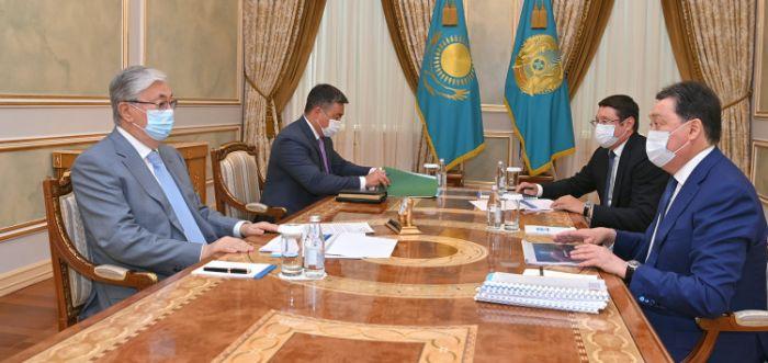 Инвестпроект по водообеспечению Западного Казахстана представили Токаеву