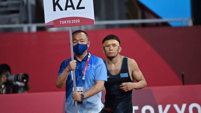 Борец Нурислам Санаев принес Казахстану шестую бронзу на Олимпиаде-2020