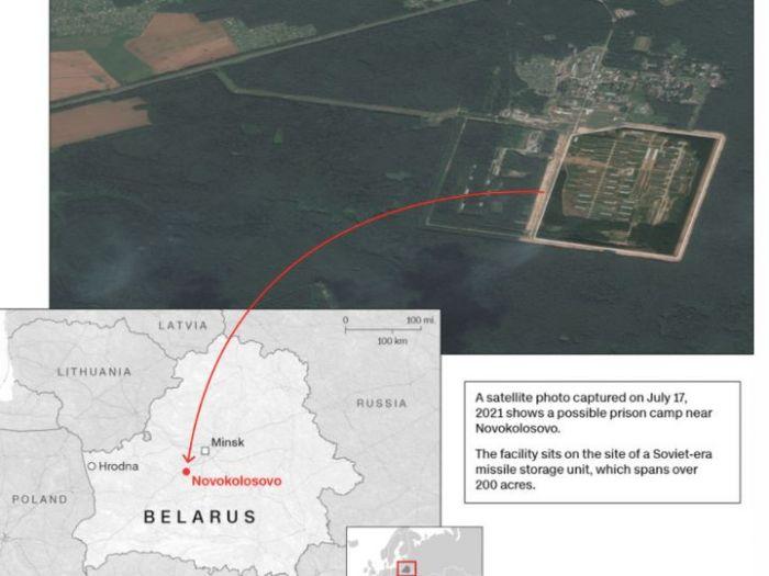 В Белоруссии построили концентрационный лагерь для политзаключенных — CNN