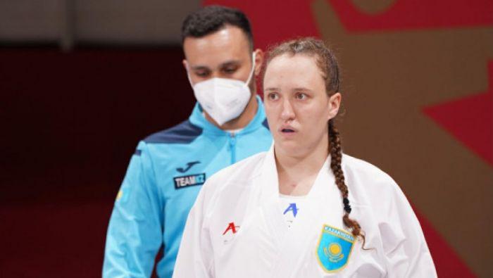 Каратистка Софья Берульцева выиграла для Казахстана восьмую «бронзу» Олимпиады в Токио