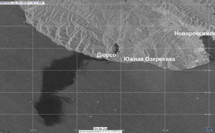 Выброс нефти с терминала КТК: разлив оказался в 400 тысяч раз масштабнее