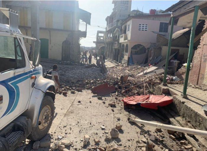 На Гаити произошло мощное землетрясение, есть жертвы