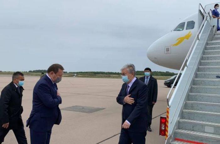 Токаев прибыл в Северо-Казахстанскую область