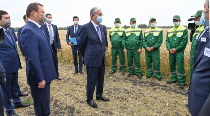 Токаев: Сейчас мы должны помогать сельхозпроизводителям