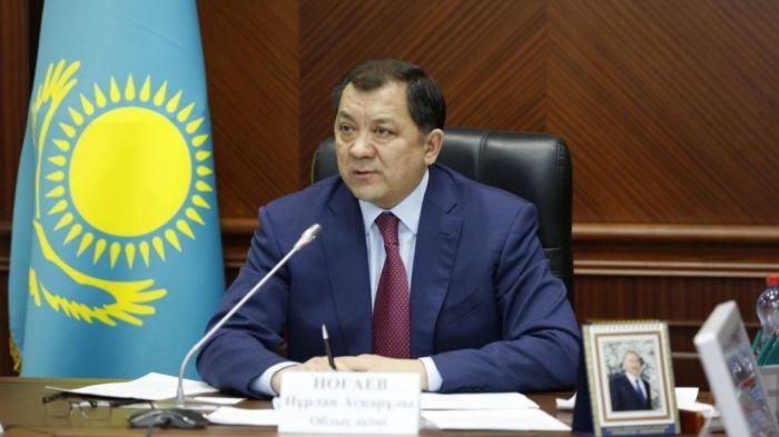 Ногаев назначен акимом Мангистауской области