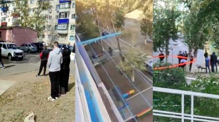 Стрельба в Лисаковске: ранен полицейский, есть погибшие