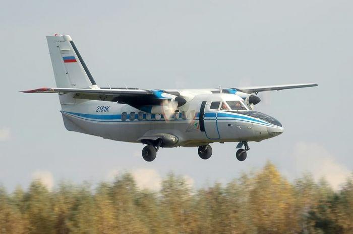 Самолет упал в тайге в Иркутской области