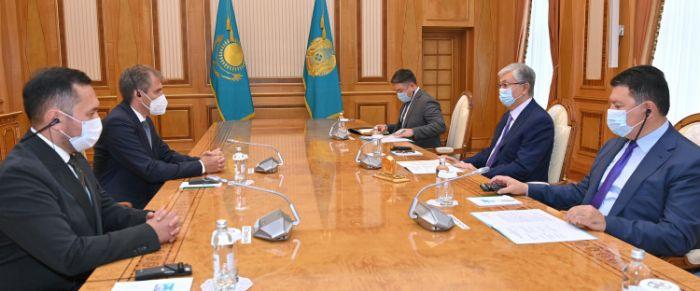 Вице-президент Linde Group рассказал Токаеву о планах по строительству ГПЗ в Жанаозене