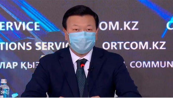 Глава Минздрава заявил о 35% снижении прироста заболеваемости COVID в Казахстане