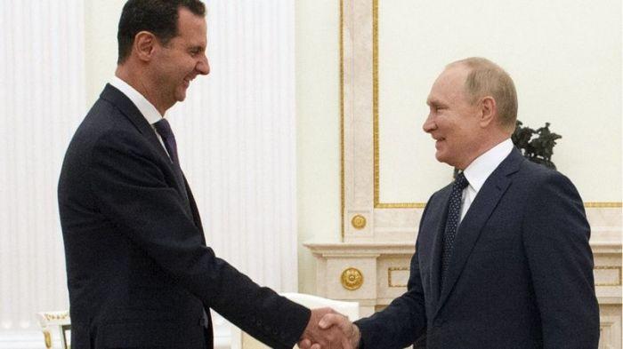 Путин назвал Асаду главную проблему Сирии