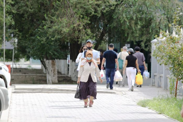 В Атырау за сутки выявили 96 инфицированных COVID-19